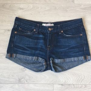J Brand cuffed shorts